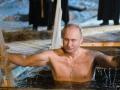 为庆主显节 普京冰水中沐浴
