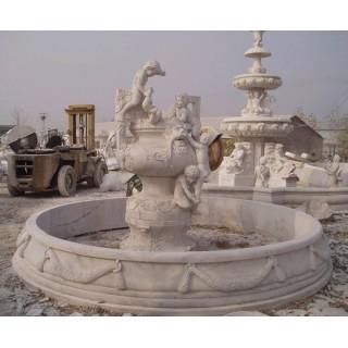 园林石雕景观喷泉雕塑