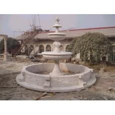 园林喷水石雕的材质