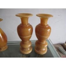 家居装饰石雕花瓶