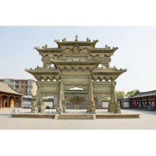 园林景观雕塑建筑石牌楼