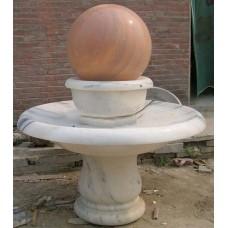 景观雕塑石雕风水球雕塑