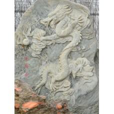 景观装饰龙石浮雕