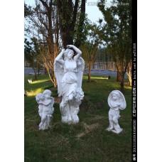 浪漫主义的欧式雕塑