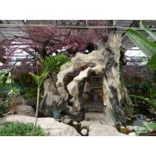 石雕景观仿真树雕塑