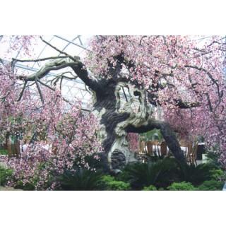 空间装饰景观仿真树石雕