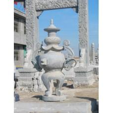 寺庙中用的石雕香炉