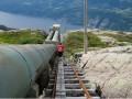世界上最长的木质阶梯——挪威弗洛里发电站