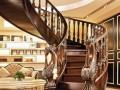 复式楼实木楼梯该如何安装?