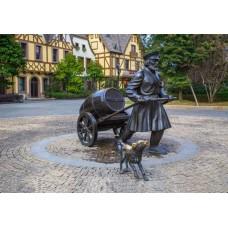 上海雕塑厂定制制作 古罗马人物雕塑 公园小区园林景观雕塑