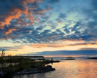 休伦湖是世界最大湖岛 为旅游、休养胜地