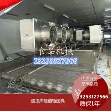 食品饺子生产速冻隧道专业定制【成远速冻隧道】