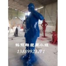 供應玻璃鋼雕塑抽象人物供應裝飾品