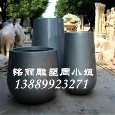 供應玻璃鋼雕塑圓形花盆