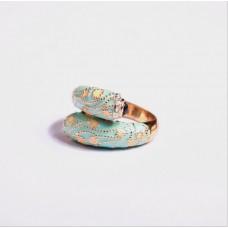 东莞饰品加工厂批发礼品开口戒指 女欧美澳宝黑凤凰钻开口戒指