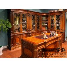 蒙森家居-书房书柜系列