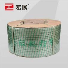 东莞宏展草绿色纸箱打包带厂家直供