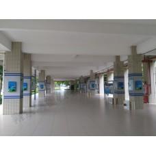 磁阻尼环科技青少年活动中心校园科技馆社区科普科墙壁