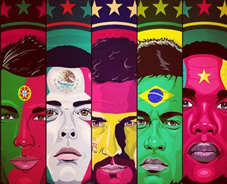 世界十大足球帅哥