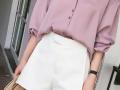 白色短裤清凉显高 如何搭配更好看?