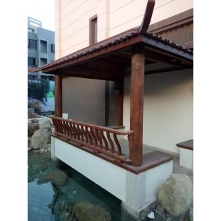 青岛龙湖别墅庭院景观设计施工案例