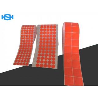 红色皱纹复合美纹纸 PET耐高温遮蔽胶带
