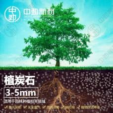 中勁植炭石 栽培基質 蓄水保肥鋪面墊底 多功能植物免燒陶粒