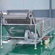百香果火龍果專用清洗流水線設備 水果氣泡清洗機