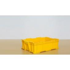 蘇州迅盛塑料周轉箱EU韓系物流箱400*105塑料箱生產供應