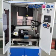 凹槽基因试管贴标机CCD视觉定位打印贴标系统视频