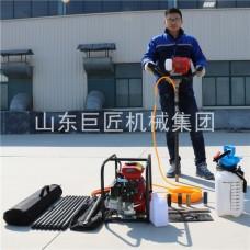 供应巨匠集团BXZ-1型单人背包钻机轻便易操作小型岩芯钻机