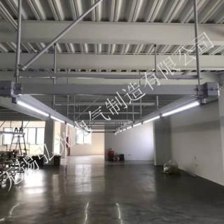 服装厂供电灯架桥架照明母线照明供电母线槽hgt-l/s