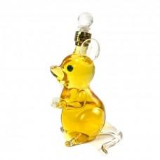 动物造型酒瓶 老鼠玻璃工艺酒瓶 十二生肖酒瓶