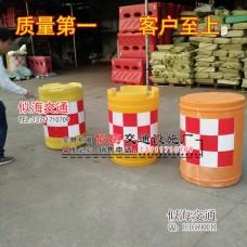 中山玻璃鋼防撞桶全新料反光桶高速公路防撞桶優質沙桶水桶路錐