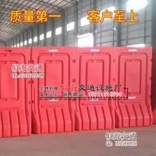 促销深圳1.8米高围栏水马市政注水马护栏滚塑防撞桶铁马围档