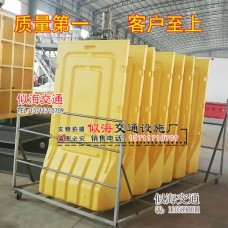 促銷深圳1.8米高圍欄水馬市政注水馬護欄滾塑防撞桶鐵馬圍檔