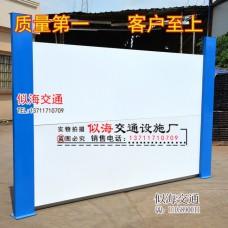 深圳新款鍍鋅板圍擋高檔裝配式鋼板圍檔圍墻工字鋼圍擋廠家直銷