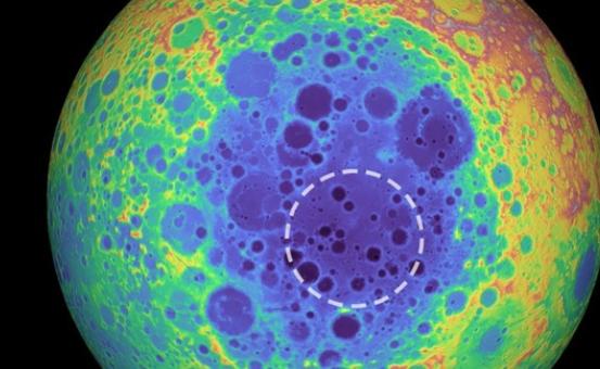 位于月球南极的小行星坟墓——一颗古老小行星的长眠之地