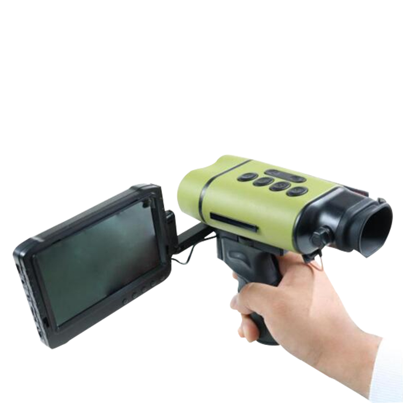 熱成像儀帶羅盤十字架熱點追蹤畫中畫可測距錄像拍照外接顯示屏