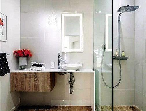 小衛生間也能做到干濕分區!