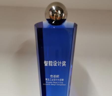"""容商天下协作机器人获青岛工业设计大奖赛""""智能设计奖"""""""