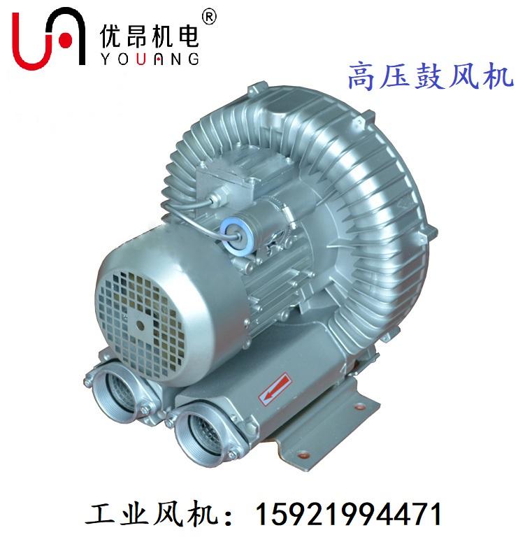 鱼塘虾塘蟹塘供氧增氧打氧曝气专用旋涡气泵双叶轮高压鼓风机